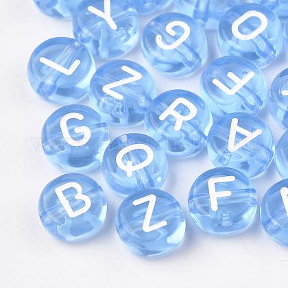 Transparent Acrylic BeadsX-TACR-N002-04C-1