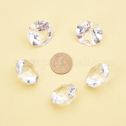 アクリルダイヤモンドの宝石は、バックカボションを指摘GACR-PH0003-01C-1