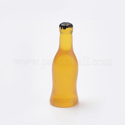 Sin cuentas de resina agujeroCRES-S303-04B-1