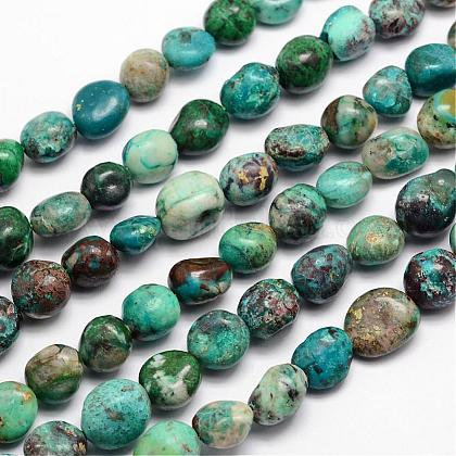 Hebras de perlas naturales crisocolaG-L459-11-1