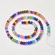 Crackle Glass Beads StrandsGGM001-3
