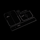 DIY Leather Waist Bag Acrylic TemplateTOOL-L007-05-4