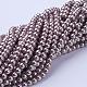 Glass Pearl Beads StrandsHY-6D-B27-3