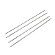 Agujas de tejer de doble punta de acero inoxidableTOOL-R044-240x2.0mm-1