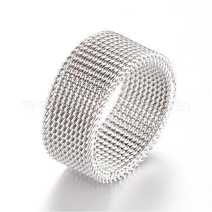 Supports de bague de doigts en 304 acier inoxydableMAK-R010-19mm-1