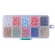10 Colors Spray Painted Glass BeadsDGLA-JP0001-03-6mm-3
