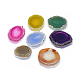 Natural Agate Slices Mobile Phone Holders AJEW-F038-01-1