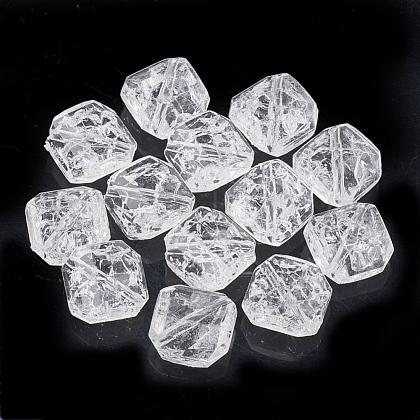 Abalorios de acrílico transparentes crepitarCACR-T001-03-1