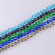 Imitation Austrian Crystal 5301 Bicone BeadsGLAA-S026-3mm-M-1