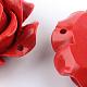 Rose Flower Cinnabar LinksCARL-Q004-72-5