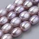 Hebras de perlas de agua dulce cultivadas naturalesPEAR-S012-39C-1