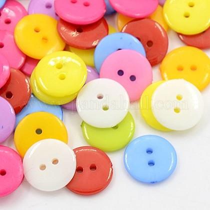Botones de costura de acrílicoBUTT-E084-E-M-1
