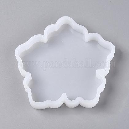 Moldes de silicona de almohadilla de taza de flores diyDIY-TAC0007-19-1