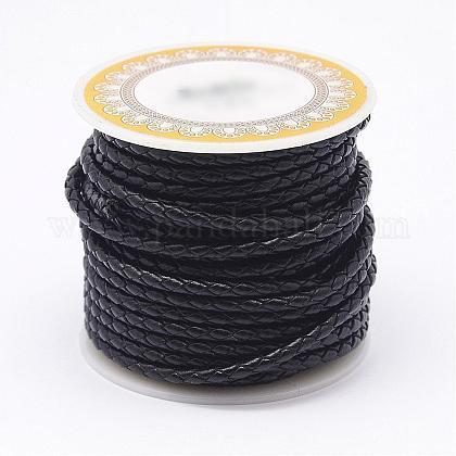 Braided Leather CordNWIR-N005-01C-3mm-1