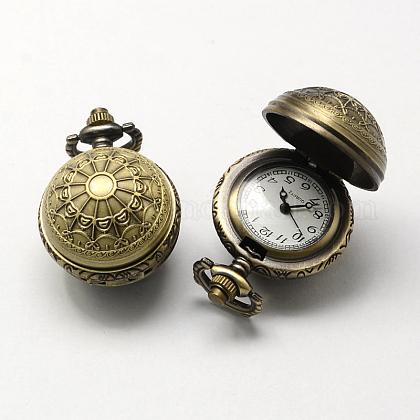 Cabezas del reloj del cuarzo de la aleación de la vendimia de zincWACH-R008-10-1