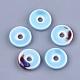 Abalorios de porcelana hechas a manoX-PORC-S498-54-2