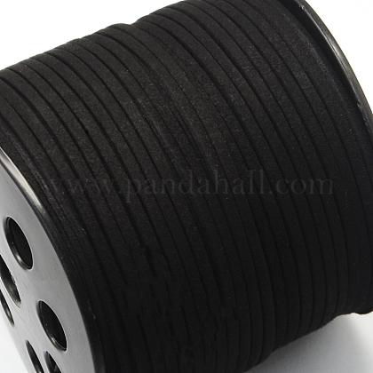 Cuerda de ante imitaciónLW-R007-4mm-1090-1