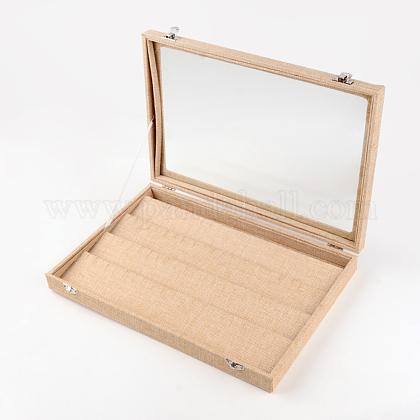 Boîtes d'affichage pendantes en bois et en boisODIS-R003-10-1