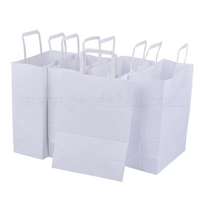 Bolsa de papel kraft con mangoCARB-BC0001-07-1