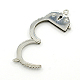 304 Stainless Steel Handcuff ClaspsSTAS-D009-01-2
