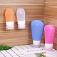Creative Portable Silicone Travel Points Bottle Sets MRMJ-BC0001-06-4
