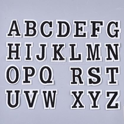 Tela de bordado computarizada para planchar / coser parchesAJEW-S076-048-1