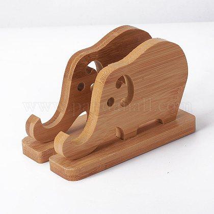 Soporte de madera para teléfonoAJEW-WH0113-03-1