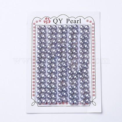 Perlas naturales abalorios de agua dulce cultivadasPEAR-I004G-01-1