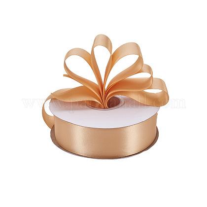 Rubans satin de double face de 100% polyester pour emballages de cadeauxSRIB-L024-3.8cm-826-1