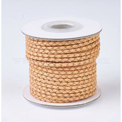 Braided Leather CordsWL-P002-06-A-1