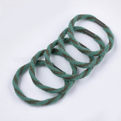 Accesorios para el cabello de lana de imitación para niñasOHAR-S190-15B-1