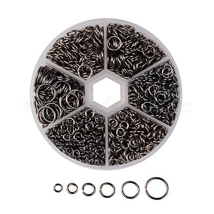 1 коробка железные соединительные колечкиIFIN-MSMC010-04B-1