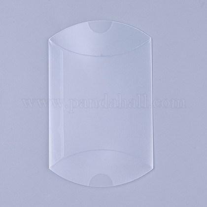 Boîtes d'oreiller givrées en plastique de PVCX-CON-WH0068-25-1