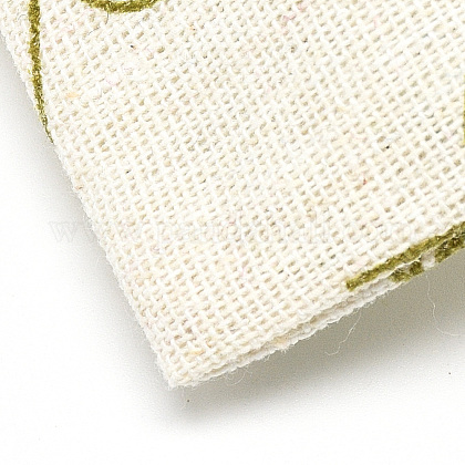 ポリコットン(ポリエステルコットン)パッキングポーチ巾着袋ABAG-T004-10x14-16-1