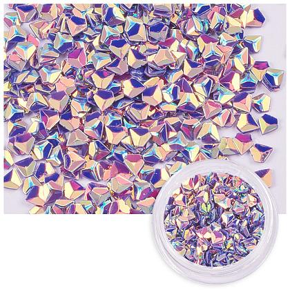 Brillo brillante arte de uñas del clavoMRMJ-S023-005L-1