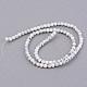 Chapelets de perle en howlite synthétiquesG-Q462-8mm-26-1-2