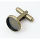 Brass Cuff ButtonKK-E062-AB-NF-3