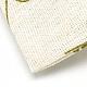 ポリコットン(ポリエステルコットン)パッキングポーチ巾着袋ABAG-T004-10x14-16-4