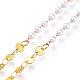 Cadenas de latón cadenas para anteojosAJEW-EH00031-3