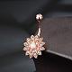 Brass Piercing JewelryAJEW-EE0006-79RG-4