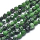 Natural Ruby in Zoisite Beads Strands G-L552O-06-6mm-1