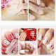 Herramientas de punteo de arte de uñas de doble cabezaMRMJ-P001-11-8