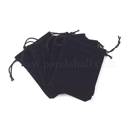 Velvet Cloth Drawstring BagsTP-C001-70X90mm-4-1