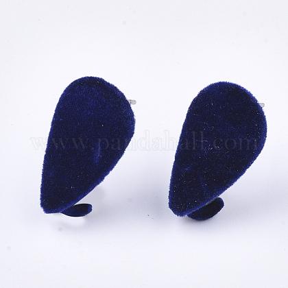 Fornituras de aretes de hierro flockyIFIN-S704-32A-1
