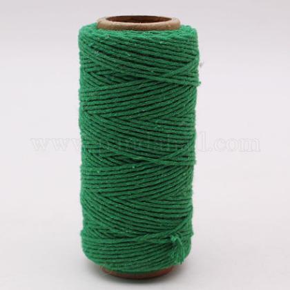 Hilos de hilo de algodón para hacer joyasOCOR-L039-B07-1