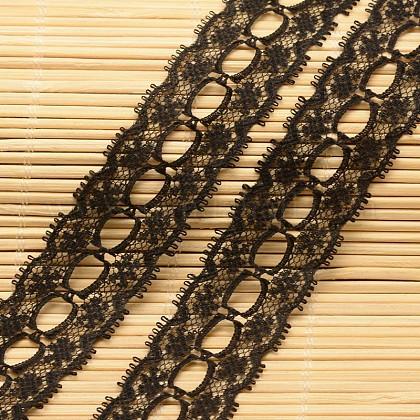 Кружева отделка нейлон ленты для изготовления ювелирных изделийORIB-F001-50-1