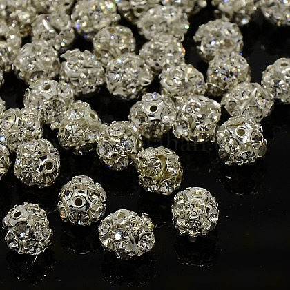 Perlas de rhinestoneRSB10C14-1