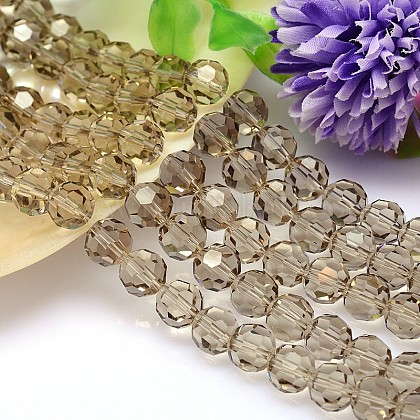 Imitation Austrian Crystal Bead Strands G-M181-10mm-21A-1