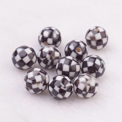 Rociar perlas de resina pintadasGLAA-F049-A09-1
