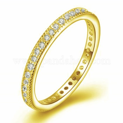Micro Pave Cubic Zirconia Rings RJEW-BB35163-G-6-1